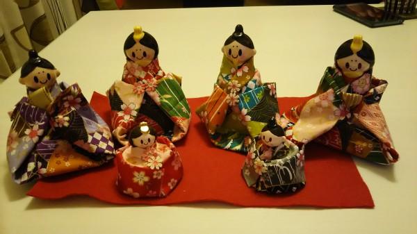雛人形手作り